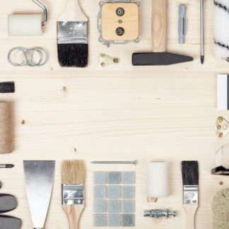 Diverse malerværktøj