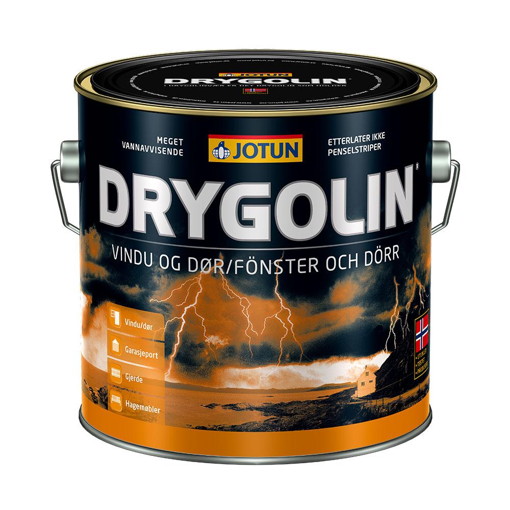 Massivt Drygolin - Maling til vinduer, døre og andet udendørs træ IY95