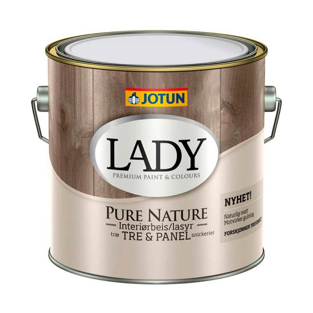 Moderigtigt Lady Pure Nature - Den smukkeste maling til indendørs træværk QH73