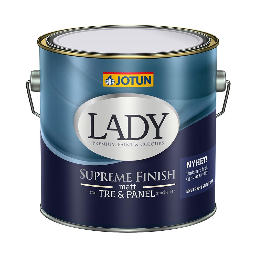 Fantastisk Lady Supreme Finish - Den bedste indendørs træmaling til en skarp HX92