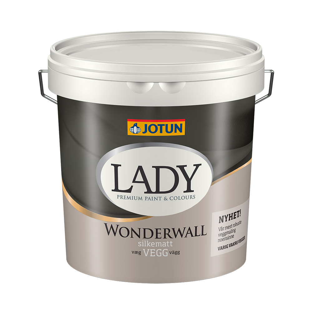 Splinternye Lady Wonderwall - Flot og robust vægmaling fra Jotun billigt her! JL-69
