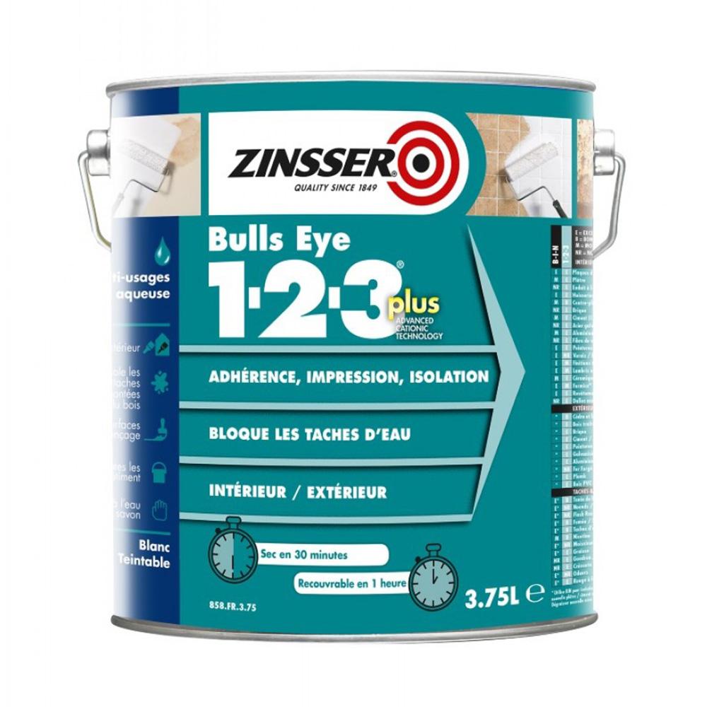 cf24f1752df Zinsser Bulls Eye 1-2-3 Plus Primer - Genial grunder og forsegler!