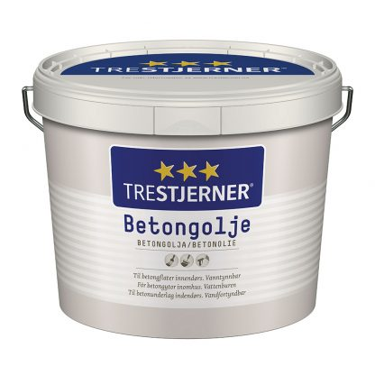 Trestjerner Betonolie - Olie til betongulv